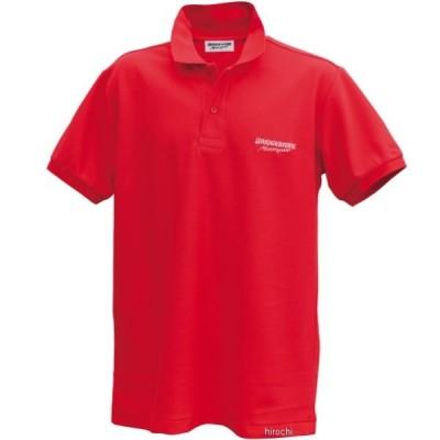 5160 9392 51609392 ブリヂストン BRIDGESTONE ポロシャツ II レーシング 赤 Mサイズ JP店