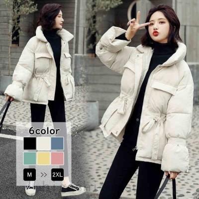ジャケット中綿ジャケットショート丈コートリボンアウター羽織り防寒あったか暖かい秋