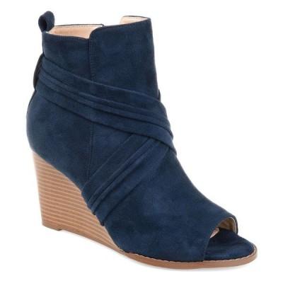 ジャーニーコレクション ブーツ&レインブーツ シューズ レディース Women's Sabeena Bootie Blue