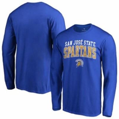 Fanatics Branded ファナティクス ブランド スポーツ用品  Fanatics Branded San Jose State Spartans Royal Team Logo