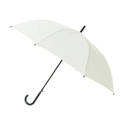 長寿乃里 ポキッと折れるんです ホワイト 65cm 長傘