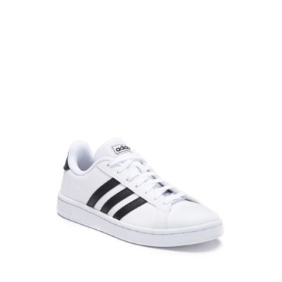 アディダス レディース スニーカー シューズ Grand Court Lace-Up Sneaker FTWWHT/CBL