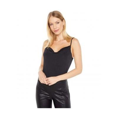 WAYF レディース 女性用 ファッション トップス シャツ Cowl Neck Bodysuit - Black