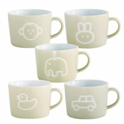 マグカップ カップ コップ 食器 プチママン キッズ陶器マグカップ 子供用 こども 子ども 電子レンジOK 200ml プレゼント 贈り物
