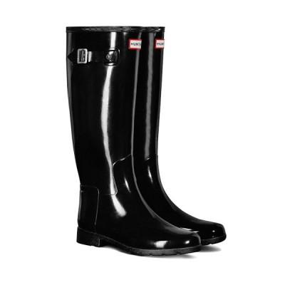 ハンター(HUNTER) レディース オリジナル リファインドグロス ブラック HWFT1071RGL BLK 長靴 レインブーツ ラバーブーツ レインシューズ