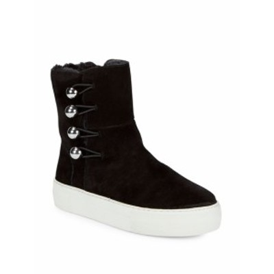 ジェイスライズ レディース シューズ ブーツ Faux Fur and Suede Ankle Boots