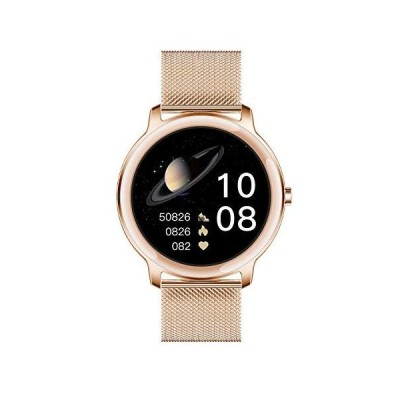 """Aliwisdom Smart Watch for Women, 1.1"""" Round Smartwatch Waterproof Activity Tracker Fitness Tracker Fitness Sport Watch with Incoming Call &"""