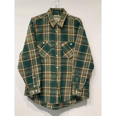 古着 GQFORD ネルシャツ チェック柄 長袖シャツ