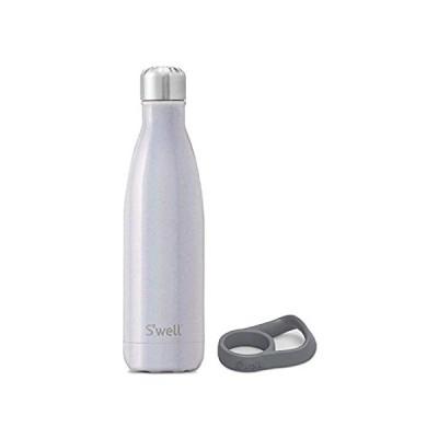 送料無料!S'well Stainless Steel Water Bottle With Travel Handle - 17 Fl Oz - Milky W好評販売中