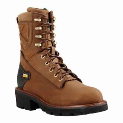 アリアト レインシューズ・長靴 Powerline 8 H2O Logger Boot Oily Distressed Brown Leather
