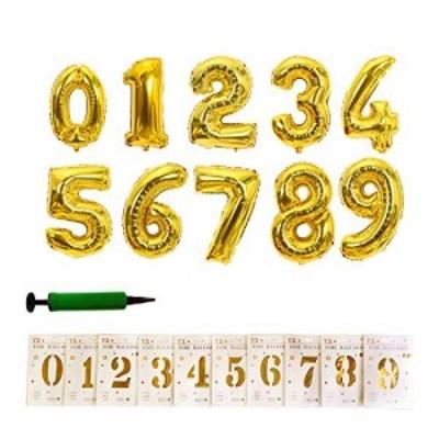 送料無料ViViKayaバースデーバルーン、16インチのデジタル風船09個入り、10個入り、誕生日、結婚記念日、イベント記念日グッズ