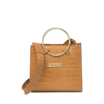 パルサマン ニューヨーク レディース ハンドバッグ バッグ Juliet Embossed Leather Crossbody Bag SADDLE
