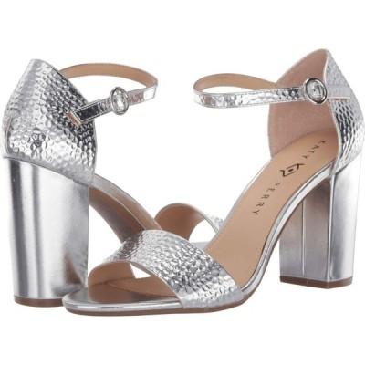 ケイティ ペリー Katy Perry レディース サンダル・ミュール シューズ・靴 The Liz Silver Hammered Emboss