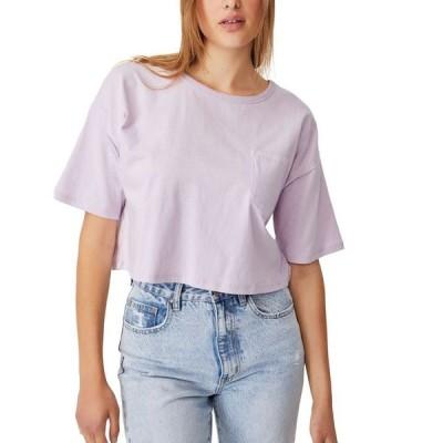コットンオン レディース Tシャツ トップス Women's The Slouch Pocket T-shirt