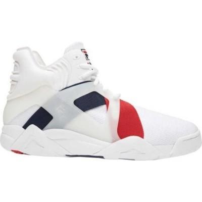 フィラ Fila メンズ スニーカー ハイカット シューズ・靴 The Cage 17 High Top Sneaker Black/Fila Red/White
