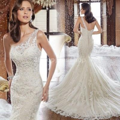 マーメイドドレス 花嫁 ウエディングドレス 安い ロングドレス 結婚式 ブライダル ウェディングドレス マーメイドライン 二次会 wedding dress 大きいサイズ