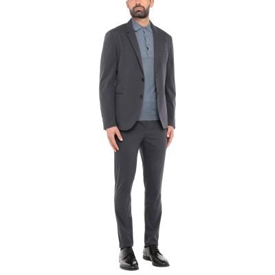 ニール・バレット NEIL BARRETT スーツ ブルーグレー 46 コットン 70% / ポリエステル 30% スーツ