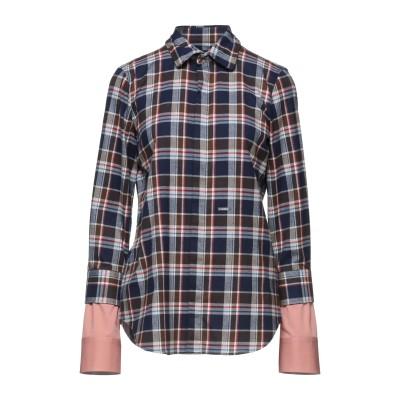 ディースクエアード DSQUARED2 シャツ ダークブルー 44 コットン 100% / ポリウレタン シャツ