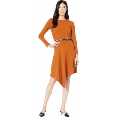 サム エデルマン Sam Edelman レディース ワンピース ワンピース・ドレス Knit Asymmetrical Hem Dress Caramel