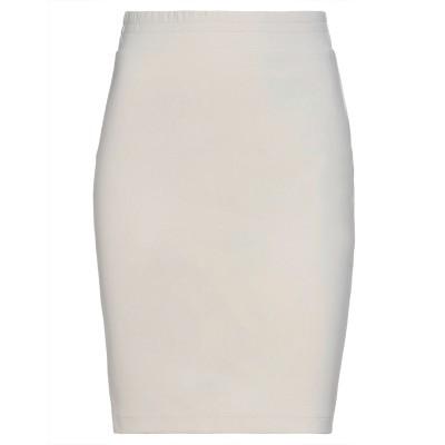 カルラ ジー CARLA G. ひざ丈スカート ホワイト 38 ナイロン 92% / ポリウレタン 8% ひざ丈スカート