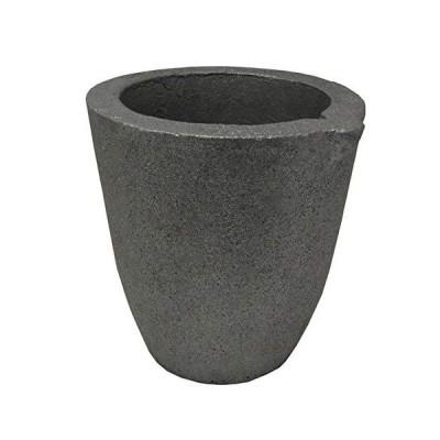 4-8Kg クレイグラファイト クルシブル プレミアム ブラック ファウンドリー カップ ファーネストーチ 溶融 キャスティング リファニング ゴー
