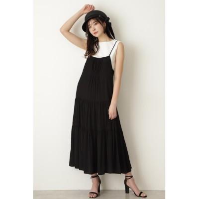JILLSTUART ◆ポリーセットドレス ブラック 2