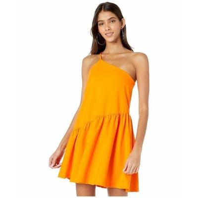 スサナモナコ ワンピース トップス レディース One Shoulder Gather Flare Dress Popsicle