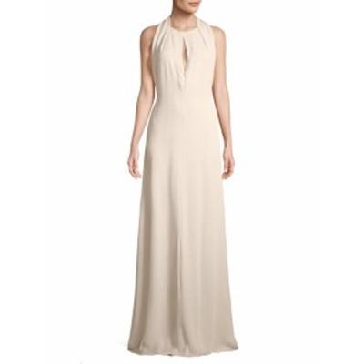 キャロライナヘレラ レディース ワンピース Contrasting Back Long Gown