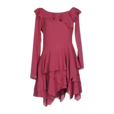 デニーローズ DENNY ROSE ミニワンピース&ドレス モーブ M ポリエステル 96% / ポリウレタン 4% ミニワンピース&ドレス