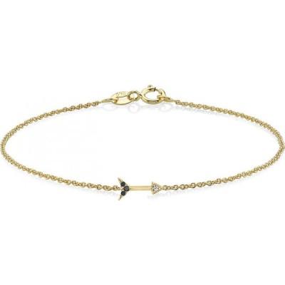 リジー マンドラー ファイン ジュエリー LIZZIE MANDLER FINE JEWELRY レディース ブレスレット Diamond Arrow Pendant Bracelet Yellow Gold