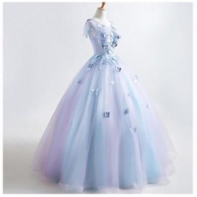 成人式 エレガンス 演奏会 刺繍 妊婦可 綺麗 結婚式 花嫁 パーティードレス プリンセスライン ウエディングドレス ブ 女性 ライダル ワン