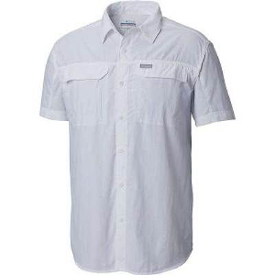 コロンビア メンズ シャツ トップス Columbia Men's Silver Ridge 2.0 SS Shirt White