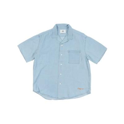 エスエーエス(SAS) リラックスデニムオープンカラーシャツ SAS1954611-73 L/BLUE (メンズ)