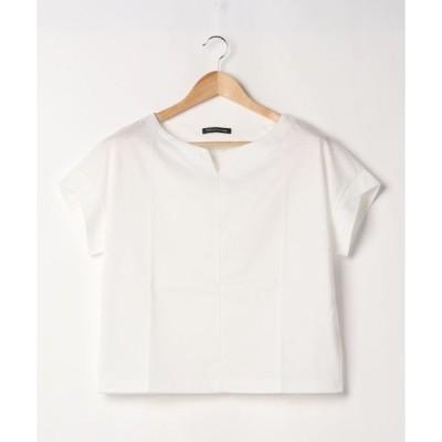 tシャツ Tシャツ UVカット 機能コットン Vネック半袖プルオーバーカットソー