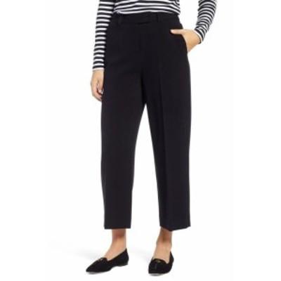 1901 ワンナインオーワン ファッション パンツ 1901 NORDSTROM NEW Black Womens Size 6 Cropped Wide-Leg Dress Pants