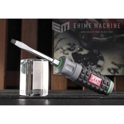 [キズモノ商品] KTC D1M2-5-615 (-5.5mm) 樹脂柄ドライバーマイナス貫通タイプ