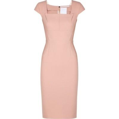 ローラン ムレ Roland Mouret レディース パーティードレス ワンピース・ドレス Jeddler Pink Dress Pink