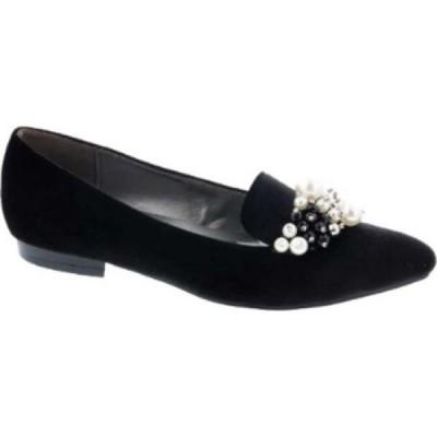 ベリーニ Bellini レディース ローファー・オックスフォード シューズ・靴 Fabulous Embellished Loafer Black/Black Velvet