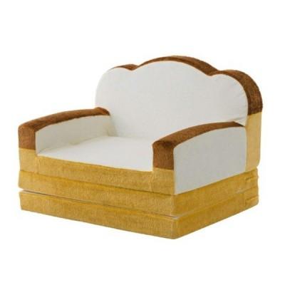 ソファーベッド 食パンソファーベッド シングル 折りたたみ おしゃれ コンパクト 食パンシリーズ (直送)