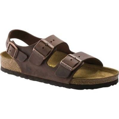 ビルケンシュトック Birkenstock レディース サンダル・ミュール シューズ・靴 Milano Oiled Leather Habana