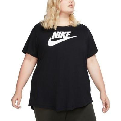 ナイキ レディース Tシャツ トップス Plus Size Sportswear Cotton Logo T-Shirt