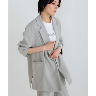 Bou Jeloud / Bab / ゆるテーラードジャケット WOMEN ジャケット/アウター > テーラードジャケット