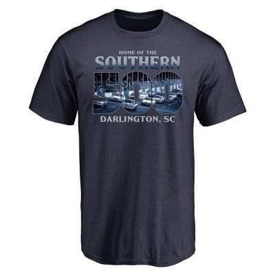 ファナティクス ブランデッド メンズ Tシャツ トップス Darlington Raceway History T-Shirt