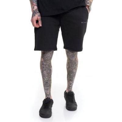 コロンビア Columbia メンズ ショートパンツ ボトムス・パンツ - Logo Fleece Black - Shorts black