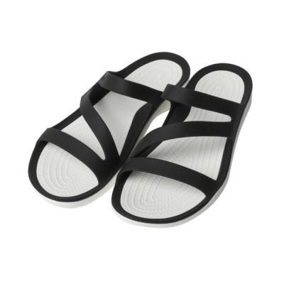【正規品】 クロックス レディース クロッグサンダル (203998 066) : ブラック crocs