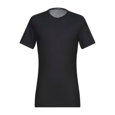 カングラ カシミア KANGRA CASHMERE T シャツ ブラック 52 コットン 100% T シャツ
