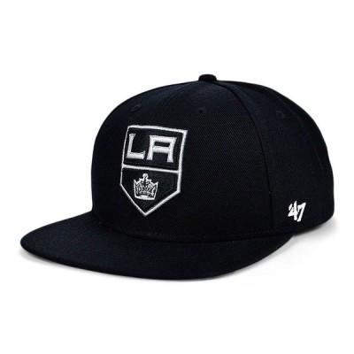 47ブランド 帽子 アクセサリー レディース Los Angeles Kings Pro Fitted Cap Black