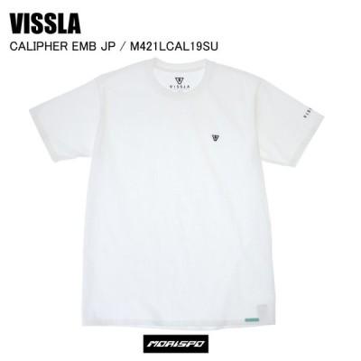 [ネコポス対応]VISSLA ヴィスラ tシャツ CALIPHER EMB JP キャリパー M421LCAL19SU