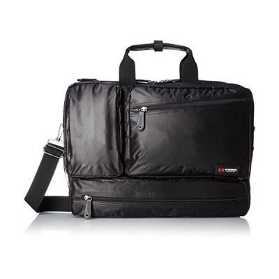 マックレガー ビジネスバッグ 軽量 シングルファスナー ブラック