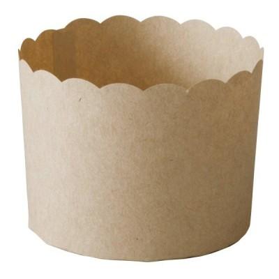 マフィンカップ M(クラフト) 50枚入 マフィン型 , マフィンカップ , カップケーキ , ベーキングカップ , 日本製  , 紙型 , 紙 M402-50